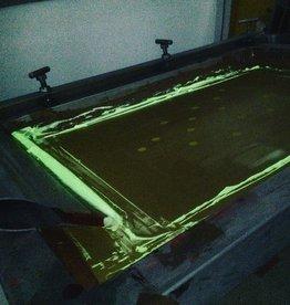 HVK Textielinkt Zeefdruk Glow in the Dark, Geel-Groenig Transparant, 1 Liter