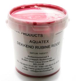 HVK Textielinkt Aquatex HVK Rood Rubine 1 kilo