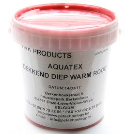 HVK Textielinkt Aquatex HVK Rood Diep Warm 1 kilo