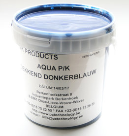 HVK Papierinkt HVK Aqua PK Dekkend  Blauw donker 1 kilo