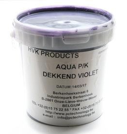 HVK Papierinkt HVK Aqua PK Dekkend  Violet 1 kilo