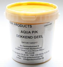 HVK Papierinkt HVK Aqua PK Dekkend  Geel 1 kilo