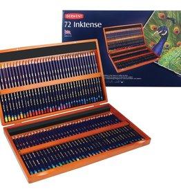 Derwent Prof-pakket aquarelpotloden Derwent Inktense 72 stuks in luxe houten kist