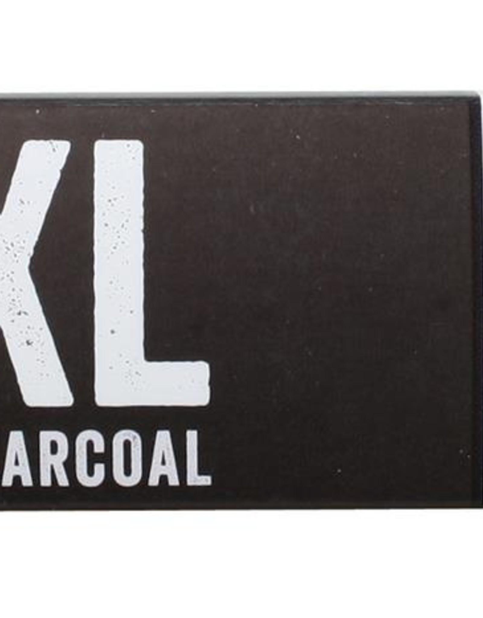 Derwent 4 stuksAarde  Houtskool XL Derwent Wit 20x20x60mm
