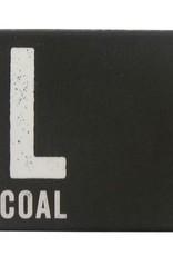 Derwent 4 stuksAarde  Houtskool XL Derwent Aarde Geel Oker 20x20x60mm
