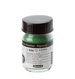 Schmincke Pigment 1000 ml Groen Kobalt Licht/ Cobalt Green Deep (PB19:Cu,Zn) no 509 Schmincke
