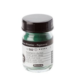 Schmincke Pigment 1000 ml Groen Kobalt Donker/ Cobalt Green Deep (PB26:Cu,Cr) no 502 Schmincke