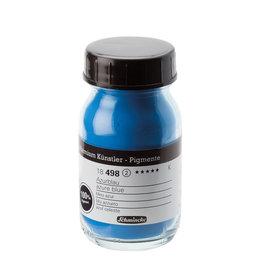 Schmincke Pigment 100 ml Blauw Azuur / Azure Blue (PB15:3,PW6) no 491 Schmincke