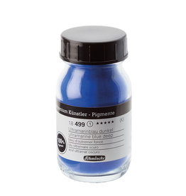 Schmincke Pigment 100 ml Blauw Ultramarijn Licht / Ultramarine Blue Light (PB29) no 490 Schmincke