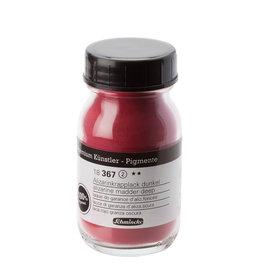 Schmincke Pigment 100 ml Rood Alizarine Kraplak Donker/ Alizarine Crimson Deep (PR83) no 367 Schmincke