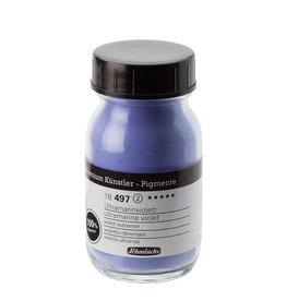 Schmincke Pigment 100 ml Violet Ultramarijn / Ultramarine Violet (PV15) no 497 Schmincke