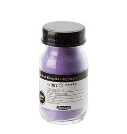Schmincke Pigment 100 ml Rood-Violet Ultramarijn / Ultramarine Red (PV15) no 357 Schmincke