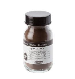 Schmincke Pigment 100 ml Aarde Van Dijck Bruin (Kasslese Aarde)/ Vandyke Brown Cassler Earth PBr8 no 675 Schmnicke