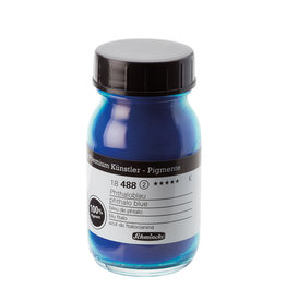 Schmincke Pigment 100 ml Blauw Phtalo Cyanide/ Phtalo Blue (PB15:3) no 488 Schmincke