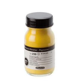 Schmincke Pigment 100 ml Geel Cadmium Licht Imitatie/ Briljant Yellow (PY154) no 239 Schmincke