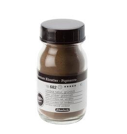 Schmincke Pigment 100 ml Aarde Omber Rauw/ Umber Natural (PBr7) no 682 Schmincke