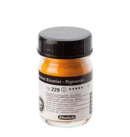 Schmincke Pigment 50 ml Geel Cadmium Deep/ Cadmium Yellow Deep (PO20) no 229 Schmincke !PAS OP GIFTIG!