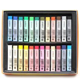 Jaxell Atief-set Pastelkrijt Betere Studiekwaliteit Jaxell 24 pastels Assorti in kartonnen doos