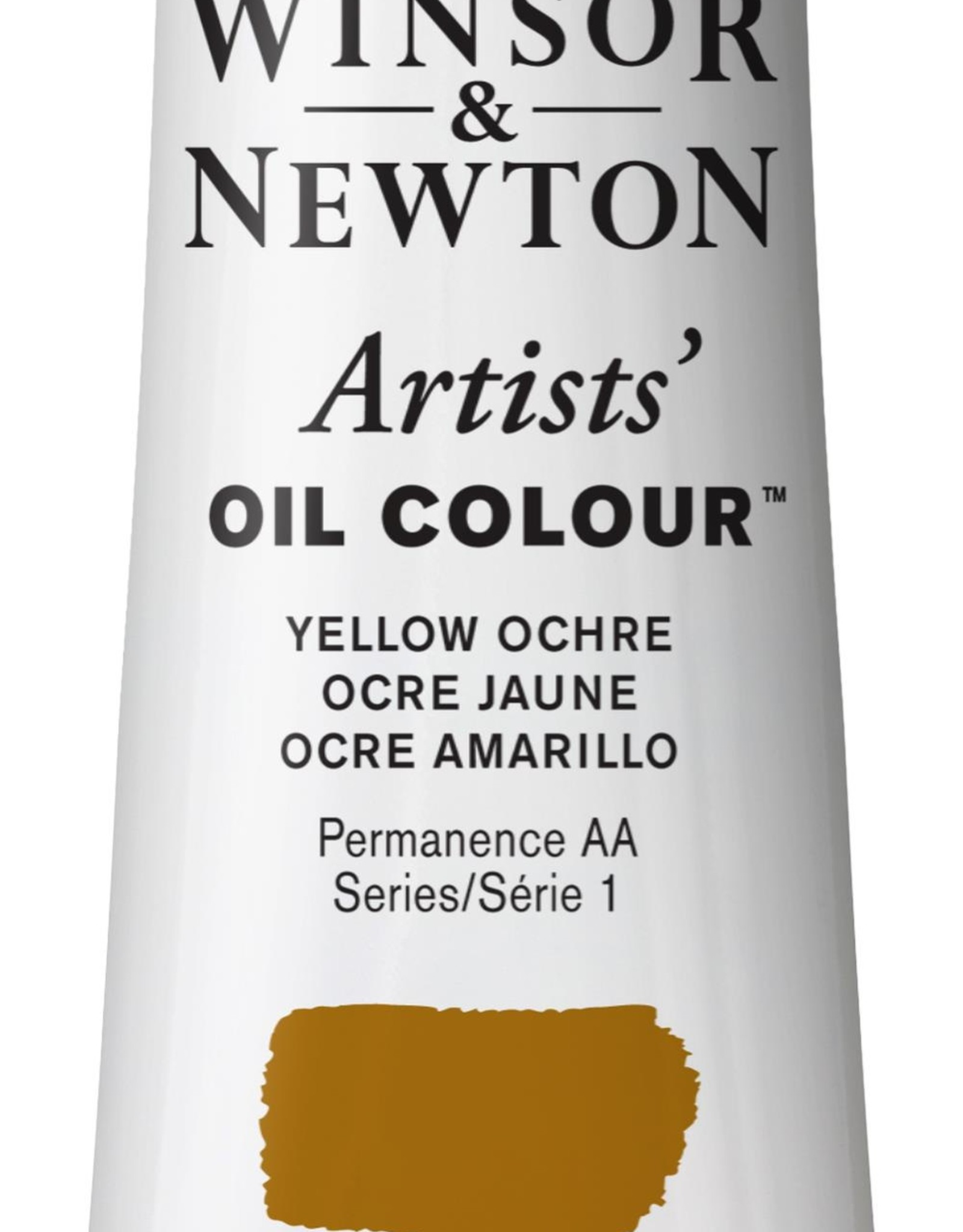 WInsor & Newton Olieverf Artists Winsor & Newton 37ml Okergeel/ Yellow Ochre 744/1