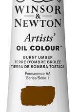 WInsor & Newton Olieverf Artists Winsor & Newton 37ml Omber Gebrande/ Burnt Umber 076/1