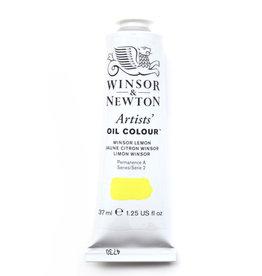 WInsor & Newton Olieverf Artists Winsor & Newton 37ml Geel Winsor Citroen/ Winsor Yellow Lemon 722/2