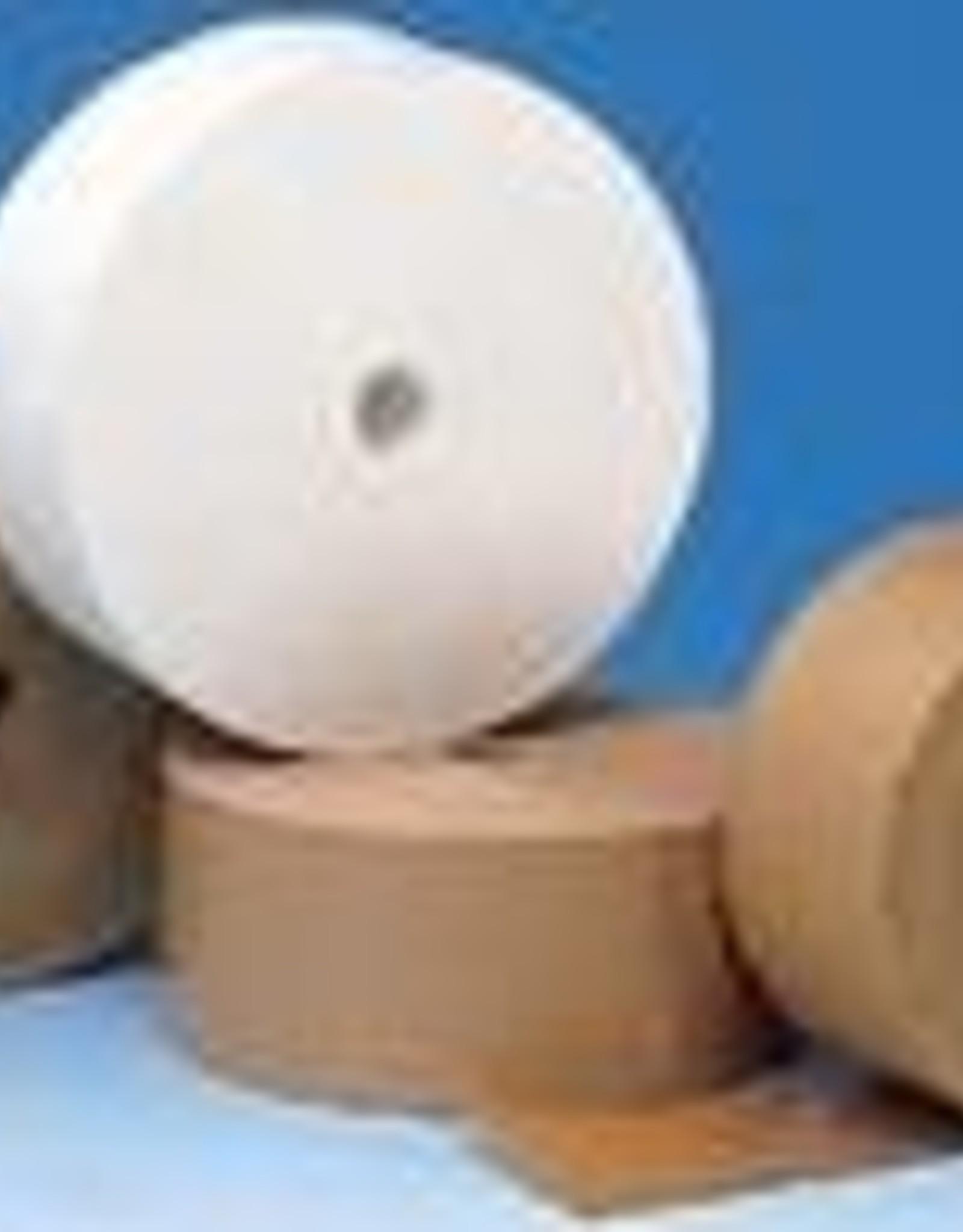 Papiertape Bruin Zelfklevend voor inpakwerk of stofdicht plakken van achterkant lijsten 50mmx50meter, basiskwaliteit