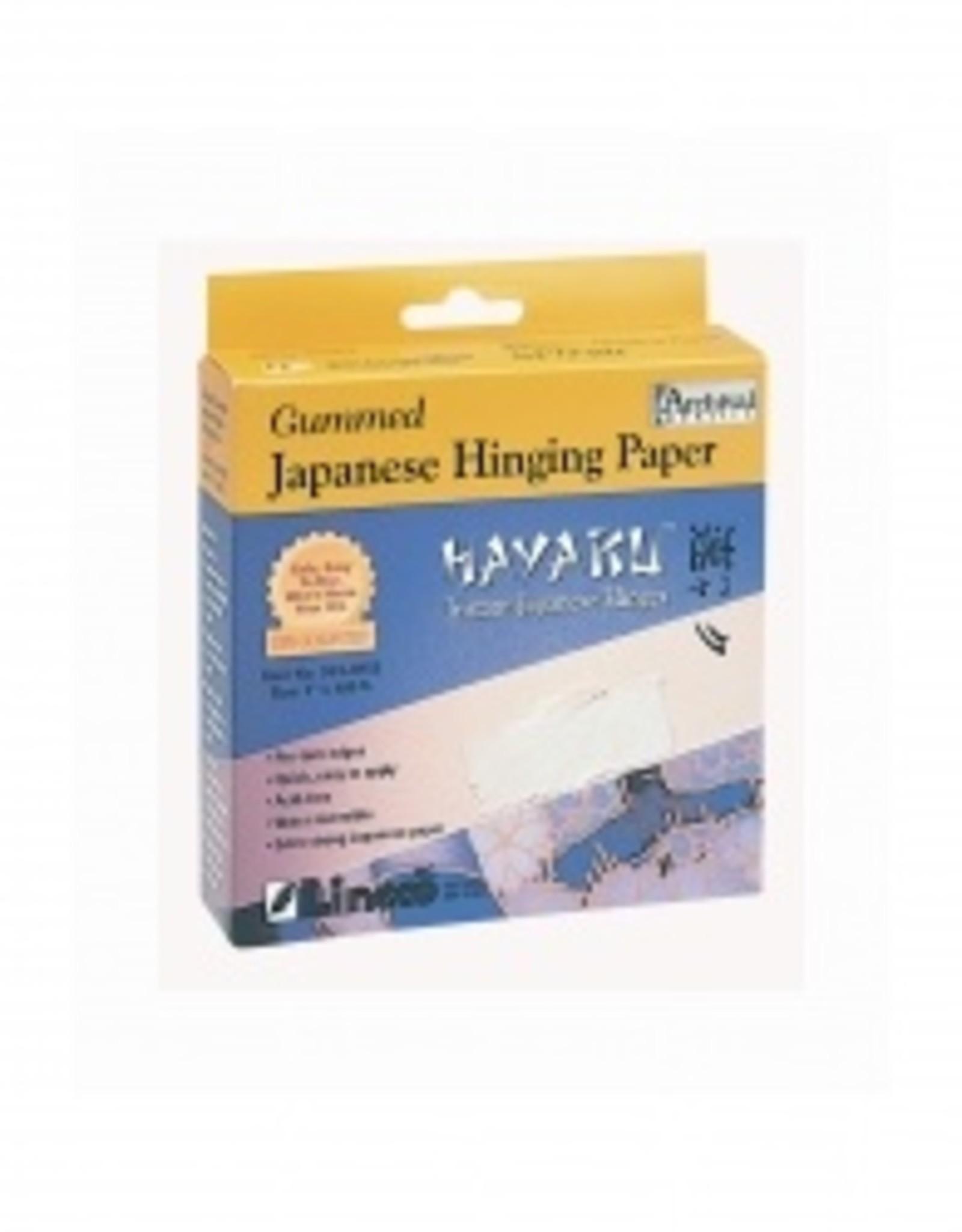 Hayaku Gompapier/ Gomtape Museumkwaliteit Zuurvrij voor ophangen tekeningen in passepartout 25mmx30m HAYAKU