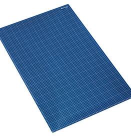Snijmat 60x90cm Blauw zelfherstellend  met maatverdeling