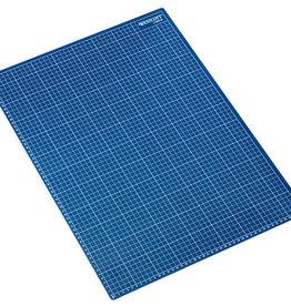 westcott Snijmat 45x60cm Blauw zelfherstellend  met maatverdeling