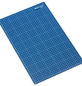 westcott Snijmat 30x45cm Blauw zelfherstellend  met maatverdeling