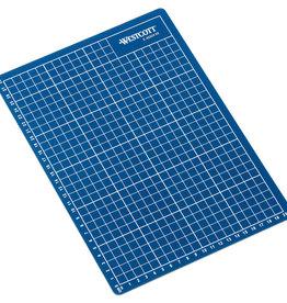 westcott Snijmat 22x30cm Blauw zelfherstellend  met maatverdeling