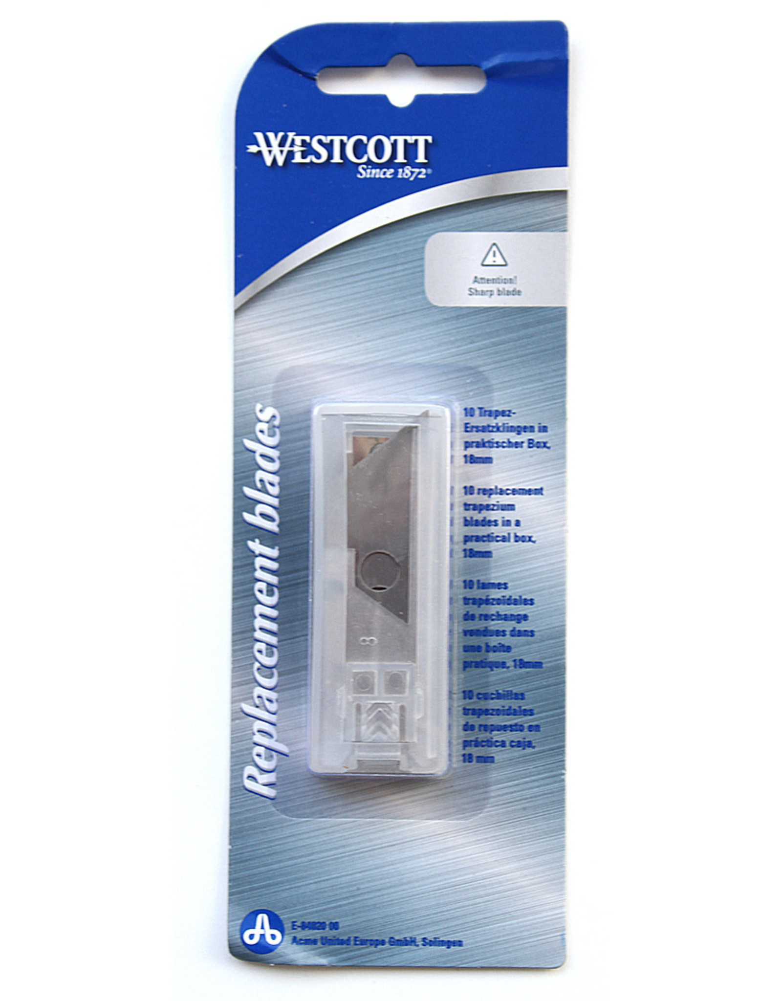westcott 10x reservemesjes Westcott voor Stanley-mes