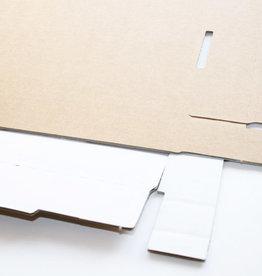 Weismuller 5x Prentendoos, 855 x 605 x 60 mm Zuurvrij van Archiefkarton Museumklasse (30 jaar)