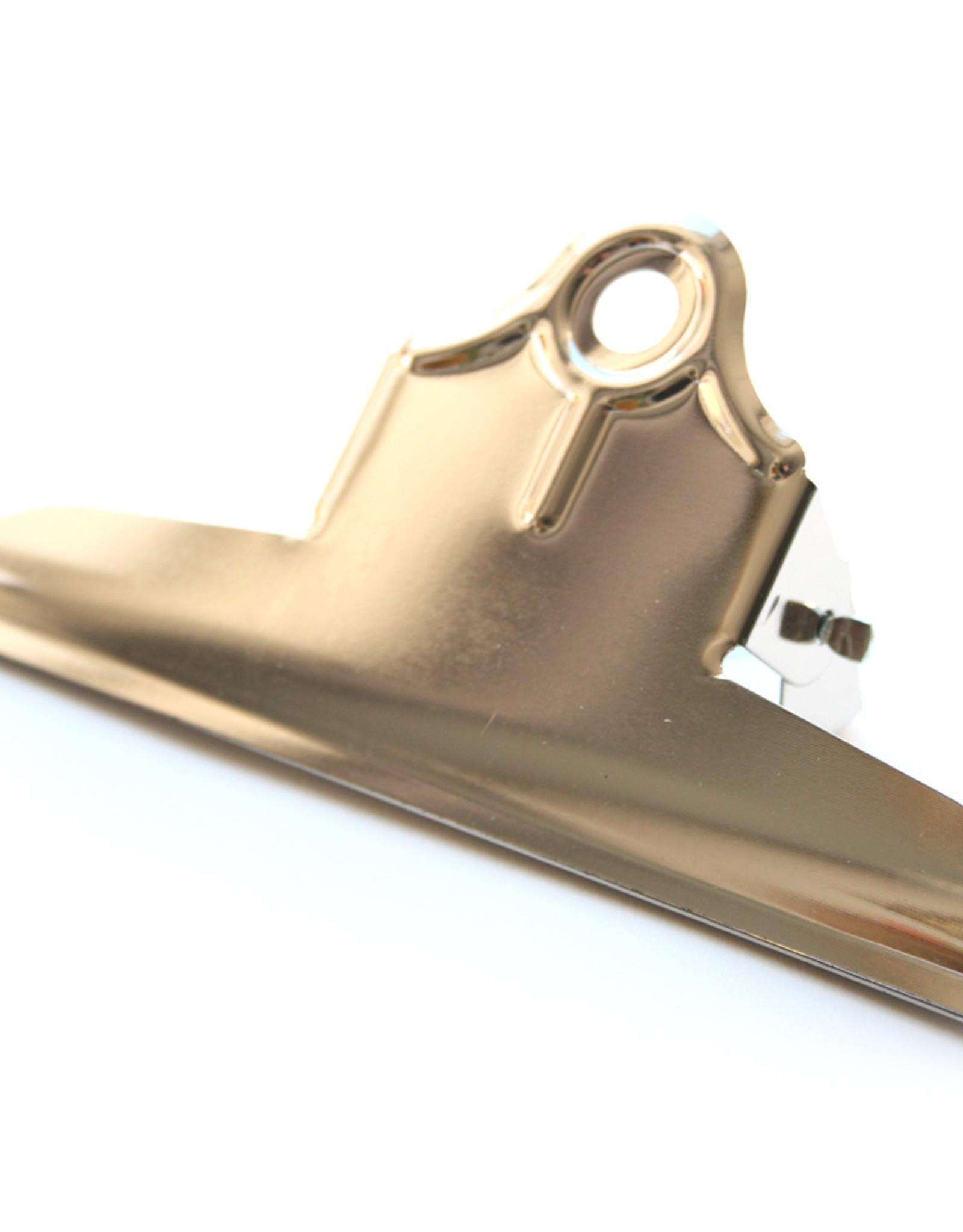Alco 10 stuks Papierklem 75mm Alco Vernikkeld