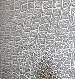 10 vel Achtertikkarton 800 grs (± 1 mm dik) 75x100 Grijs reptiel-struktuur