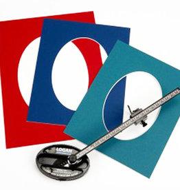 Logan Passepartoutset professioneel Logan 201 Oval & Circle Cutter