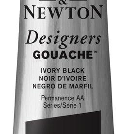 WInsor & Newton Gouache Designer W&N 37ml zwart Ivoor 331/1