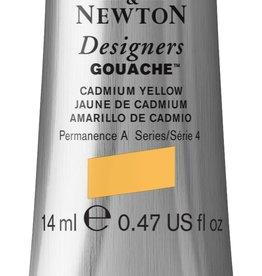 WInsor & Newton Gouache Designer W&N 14ml geel Cadmium licht 118/4