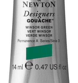 WInsor & Newton Gouache Designer W&N 14ml groen Winsor 720/3