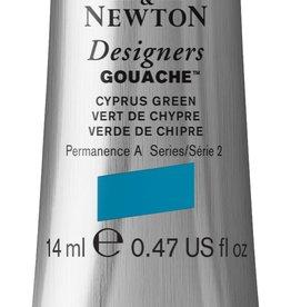WInsor & Newton Gouache Designer W&N 14ml groen Cyprus 211/2
