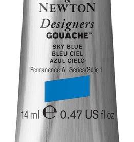 WInsor & Newton Gouache Designer W&N 14ml blauw sky 621/1