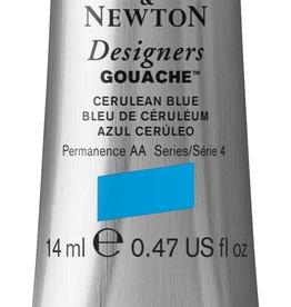 WInsor & Newton Gouache Designer W&N 14ml blauw ceruleum 137/4