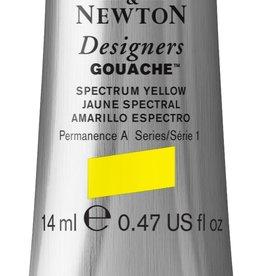 WInsor & Newton Gouache Designer W&N 14ml geel spectrum 627/1