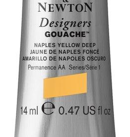 WInsor & Newton Gouache Designer W&N 14ml aarde geel Napelsgeel 422/1
