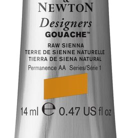 WInsor & Newton Gouache Designer W&N 14ml aarde bruin rauwe Sienna 552/1