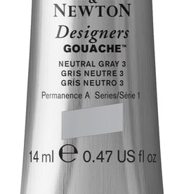 WInsor & Newton Gouache Designer W&N 14ml grijs neutraal nummer 3 436/1