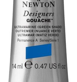 WInsor & Newton Gouache Designer W&N 14ml blauw Ultramarijn 660/1