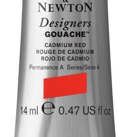 WInsor & Newton Gouache Designer W&N 14ml rood Cadmium 094/4