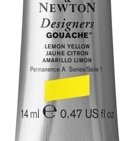 WInsor & Newton Gouache Designer W&N 14ml geel citroen 345/1