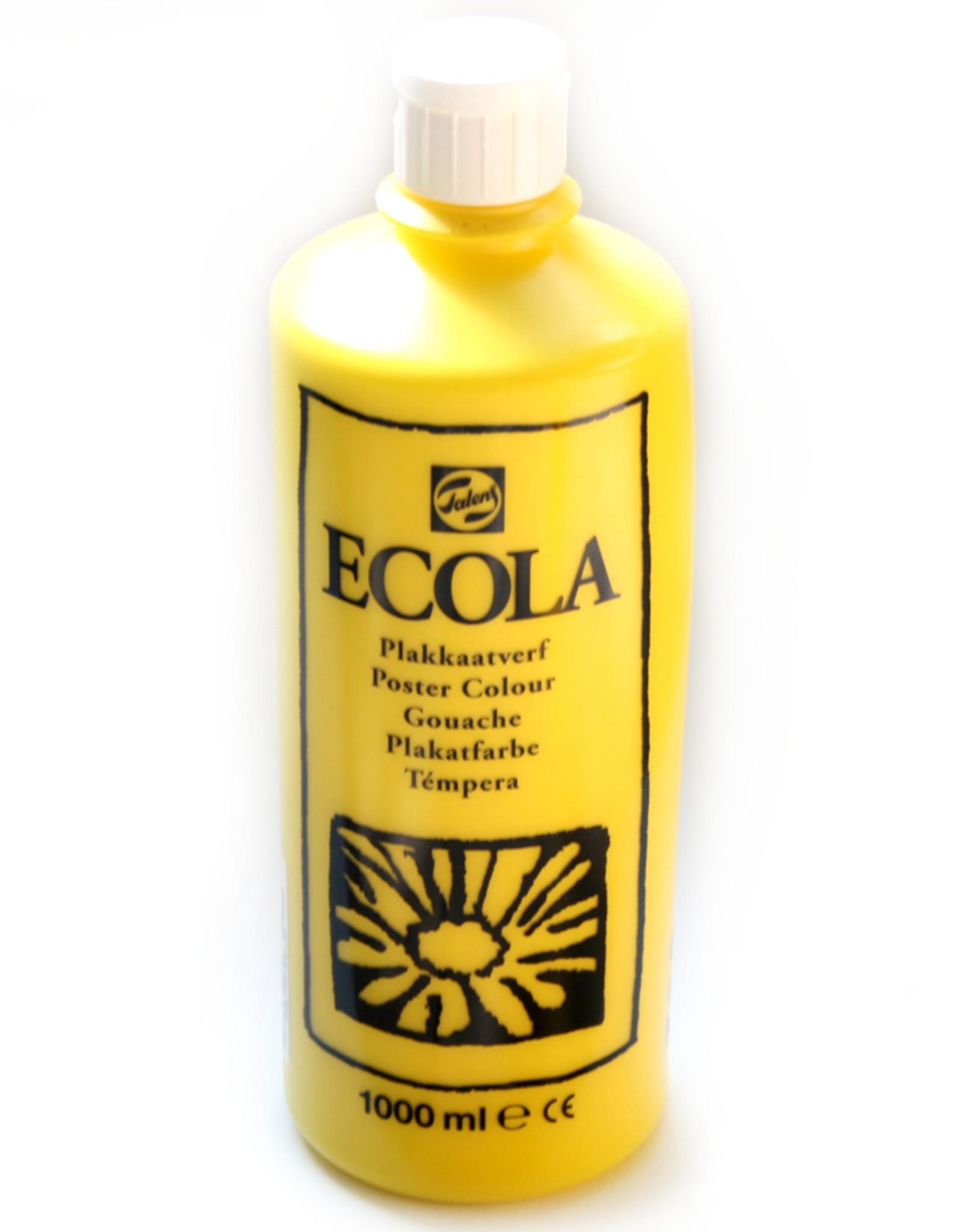Talens Talens Ecola is de betere schoolkwaliteit (gouache o) plakkaatverf en veruit het meest gebruikt op scholen in Nederland. Het is niet giftig, betaalbaar en toch redelijk van dekking en substantie